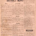 Triadelphia District News, The Logan Banner, February 27, 1931