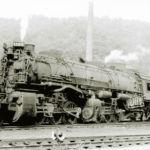 Engine No. 1300, Peach Creek Yards