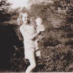 Henlawson, WV August 1971, Jean Elli Ellis and son Ernest Ralph Ellis, Jr. born Oct. 1, 1970