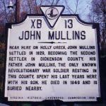 John Mullins Historic Marker