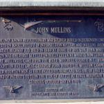 John Mullins Plaque