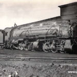 Peach Creek Yards, 1931 Postcard