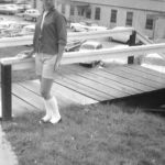 Audrey Noe 1950s Dehue, WV