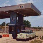 1950s WV Turnpike Postcard