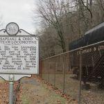 2755 Steam Locomotive Marker