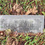 Bertha Ellis