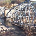Blue Bridge Comes Down
