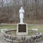 Chief Logan Statue restored.