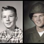 High School and Marine Photo