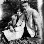 Elizabeth Taylor with childhood sweetheart Johnny Jones abot 1927