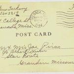 First Postcard Stateside