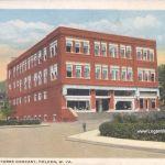 Island Creek Stores Company Postcard