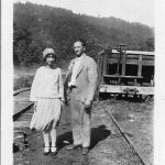 Joe Hatfield and Virginia Taylor
