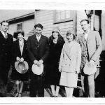 Johnny Jones, Elizabeth Taylor, Ed Taylor, Ethel Taylor, Virginia Taylor and Johnny Lucas