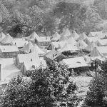 1922 Striking union miners Lick Creek, WV.