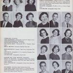 1957 Logan High School Yearbook, Logan, WV