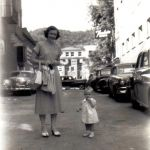 Logan early 1950s, Thelma Powell Haslam and daughter Carla