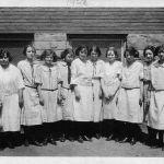 12 - 1923 Logan Junior High Sewing Clas