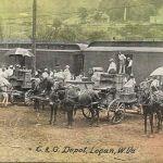 C & O Depot, Logan, W. Va.