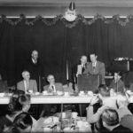 Robert Byrd Campaigning Logan WV