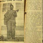 Sergeant Wilbur Carey, Holden, WV coutesy of Barbara Mowery