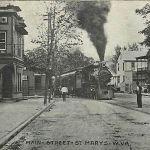 St. Marys WV Postcard