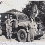 Steve Tarkany & Harold Saxton with their vehicle