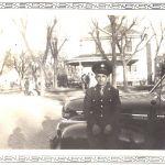 Uncle Steve and his car in Salina, Kansas