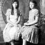 Virginia Taylor and Bertha Schall