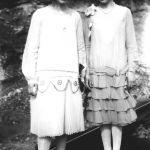Virginia Taylor and Elizabeth Taylor about 1927