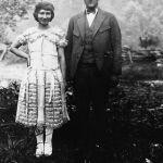 Virginia Taylor and Joe Hatfield June 1922