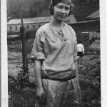 Virginia Taylor June 10, 1924 - Machine Shop in background