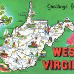 WV Greetings Postcard