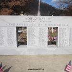 WWII Island Memorial